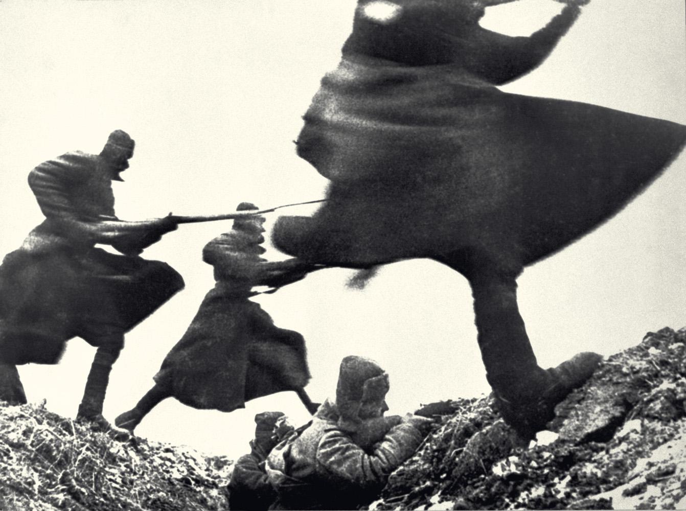 Дмитрий Бальтерманц. Атака. 1941. Цифровой отпечаток. Собрание МАММ