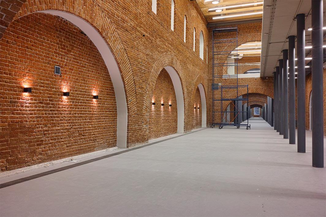Интерьеры здания Арсенала после реставрации. 2011–2015. Фото: В. Ефимов
