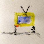 Челышев Артемий, 8 лет. Выключенный телевизор в доме. Семейные мастерские. Цветные поля. Марк Ротко