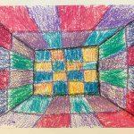 Голберг Леонард, 5 лет. Комната. Семейные мастерские. Виктор Вазарели. Оптическое искусство