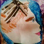 Лаврентьев Ваня, 5 лет. Мастерская семейной арт-терапии. Сегодня я такой. Автопортрет